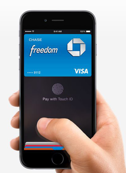 Apple's Mobile Wallet is accepted by Square's Credit Card Reader.