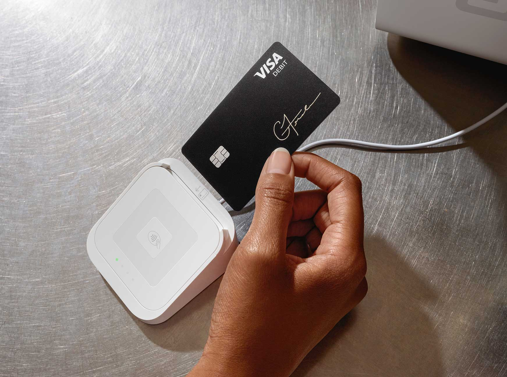 What credit cards does square accept?