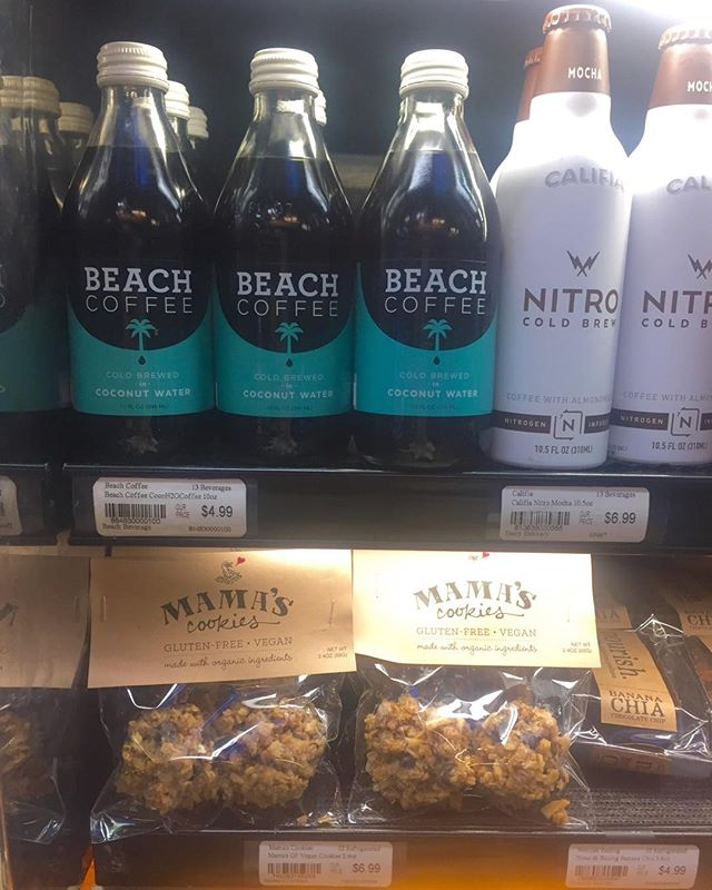 Demo at BiRite today and was thrilled to see my classmate's product from Renaissance is right above me! So happy to share the same space with you Charlie! Mama's sure loves Beach Coffee! #drinkbeach