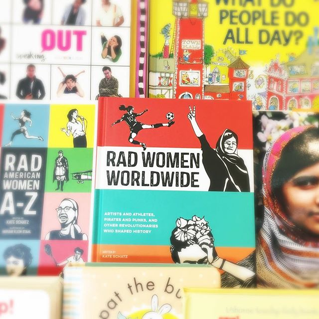 Thank you Other Avenues for supporting female businesses and for providing fabulous books on Rad Women in our country and world! #womeninbiz #womenrock #love #otheravenues