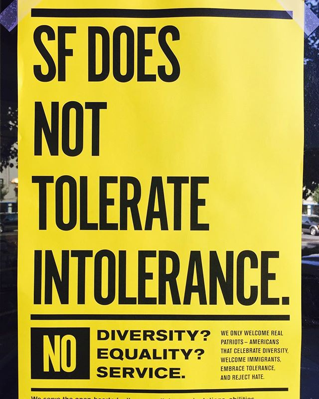 I❤️SF. #lovesf #equalityforall #donttoleratehate
