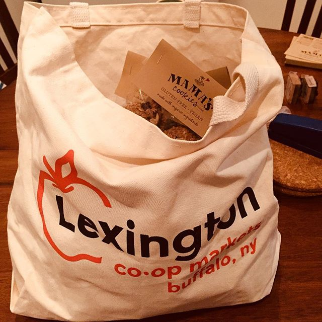 Whenever I come back to my hometown, I always pick up my groceries at the co-op. Everything about the Lexington is pretty damn fantastic. If I ever move back I think our cookies would be a hit!  #lexingtoncoop, #madewithlove, #awesomestaff, #buffalolove, #thanksforthegreatfood