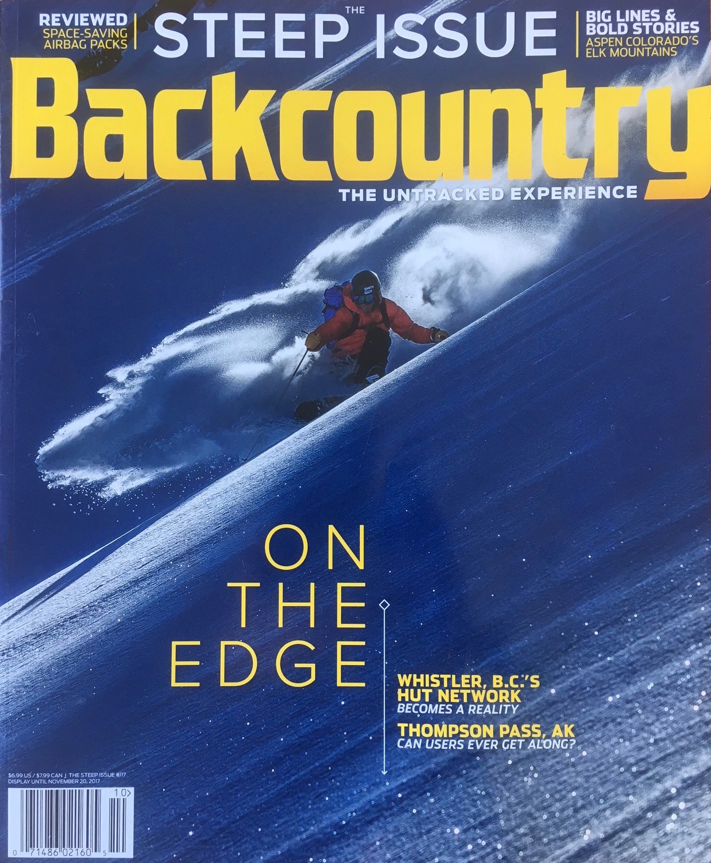 Backcountry Magazine, November 2017   Thompson Pass, Alaska is a legendary mecca for big mountain skiing and riding. It's also a litmus test for a crowded public land resource with diverse user groups who often find their activities in conflict. Public lands managed by different agencies, safety concerns, and critical habitat for wintering wildlife issues round it out. Will the pass show us the way to collaborate, or be a victim of its popularity?