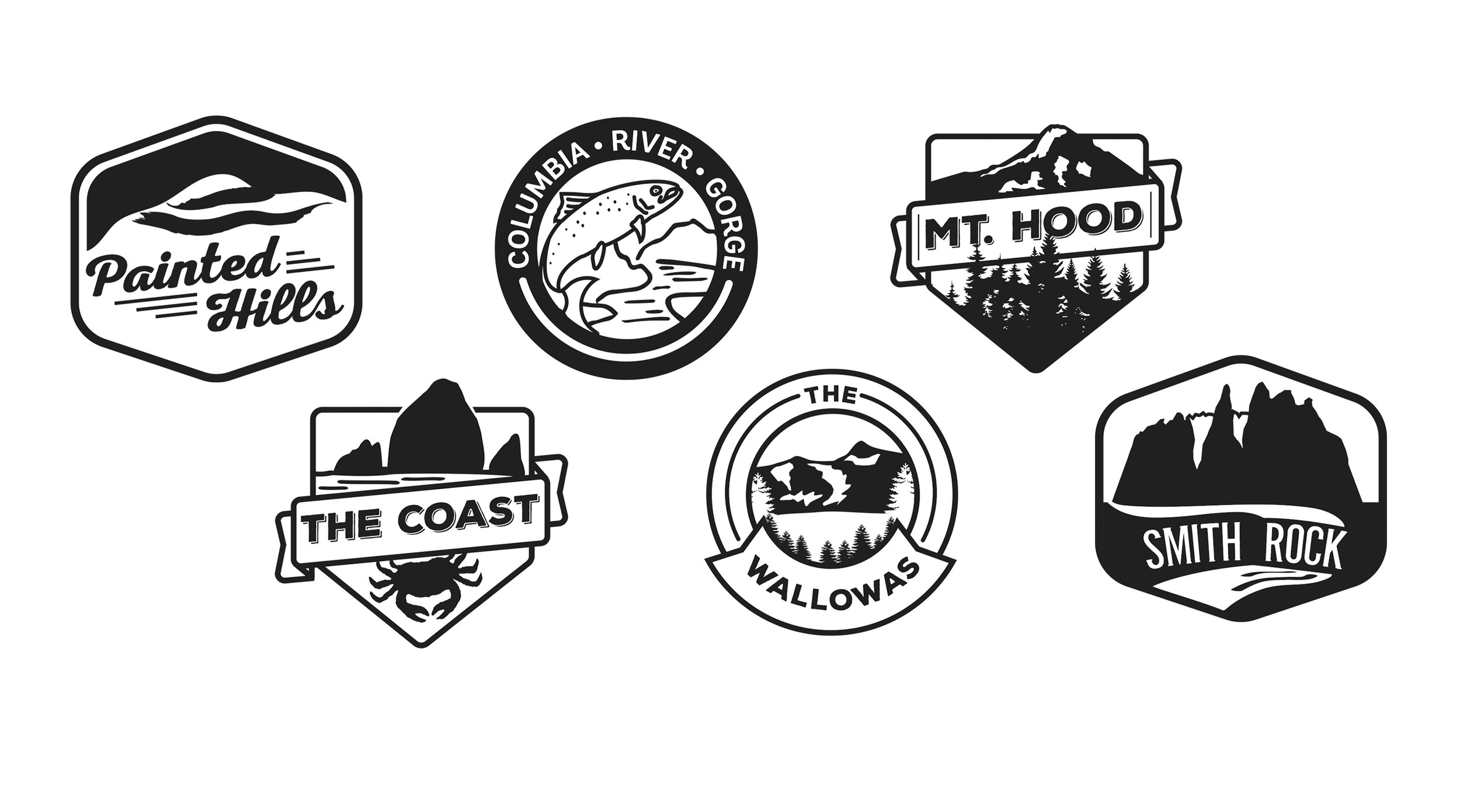 Icons made for the different meetign rooms in Yakima Headquarters.