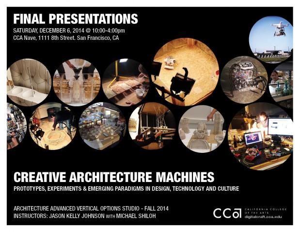 Creative Architecture Machines Fall 2014 Final Presentation