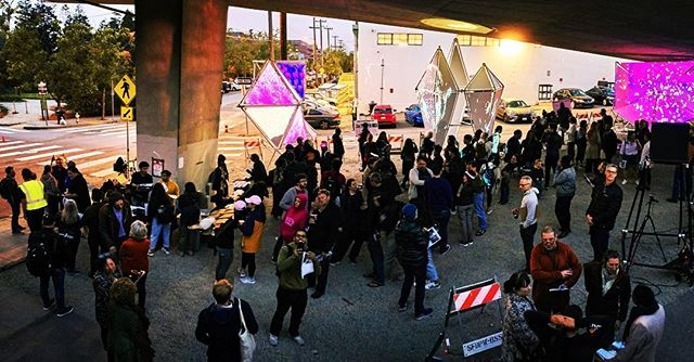 "CCA Underworlds final exhibition Saturday 5/4 2-4pm ""under the overpass"" in #dogpatchsf All are welcome - CCA SF Nave Alcove. Inspiring work by our extraordinary students!  Thank you to #sfplanning @_le_flaneur_ the #gbd and everyone else who has supported the studio! @_rainbowmilk #touchdesigner #interactivearchitecture #kinect #projectionmapping #interactiveart #underpass-park #dogpatchsf #espritpark @futureformslab #ccaunderworlds Photos by James Bueti Photography"