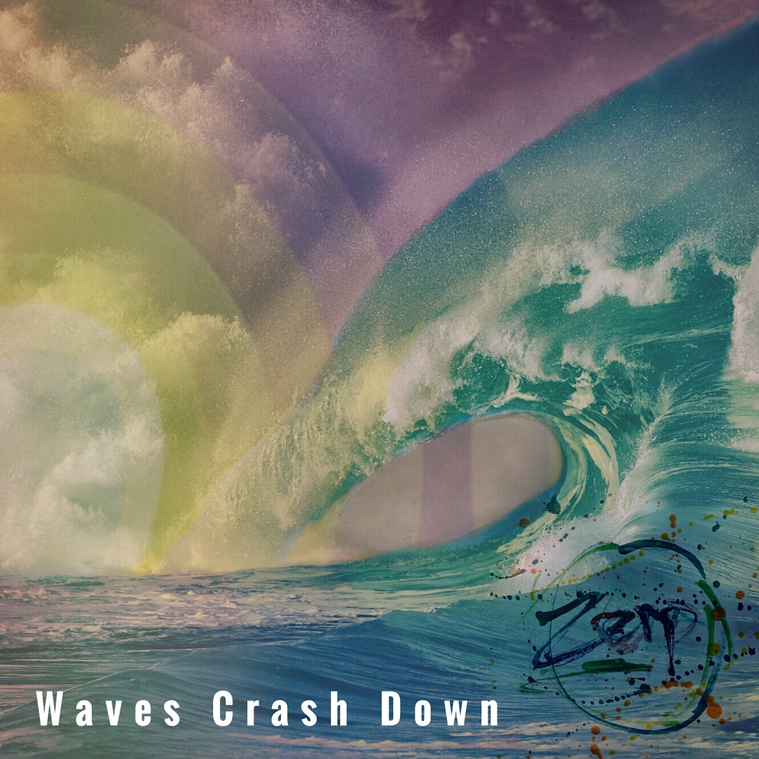 Waves Crash Down - Single, w/ remixes  (3 tracks) Electronic.  Experimental.  Pensive.
