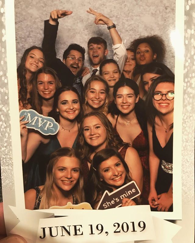 When you DJ a party and a bunch of your past middle school students are at it.  Wow - thanks for making me feel old Class of 2019! 🤣 #oldman #teacher #myteacherisadj #dj #zerp #djzerp #zerpparties #paststudents #imgettingold #party #prom @net.6 @alexa.notnelson @jordan.pilbin @kristineomo @lindseyyyyy229 @cara.andrews @skillshills ... ... ... ... @jc.onklin where were you for this photo-op?!!!