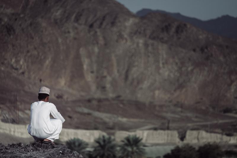 Afternoon Meditation. Bahla, Oman