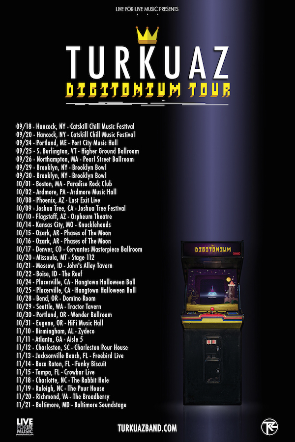 For Tickets & Info: http://www.turkuazband.com/tour/