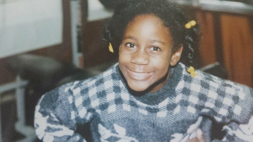 Me age 8