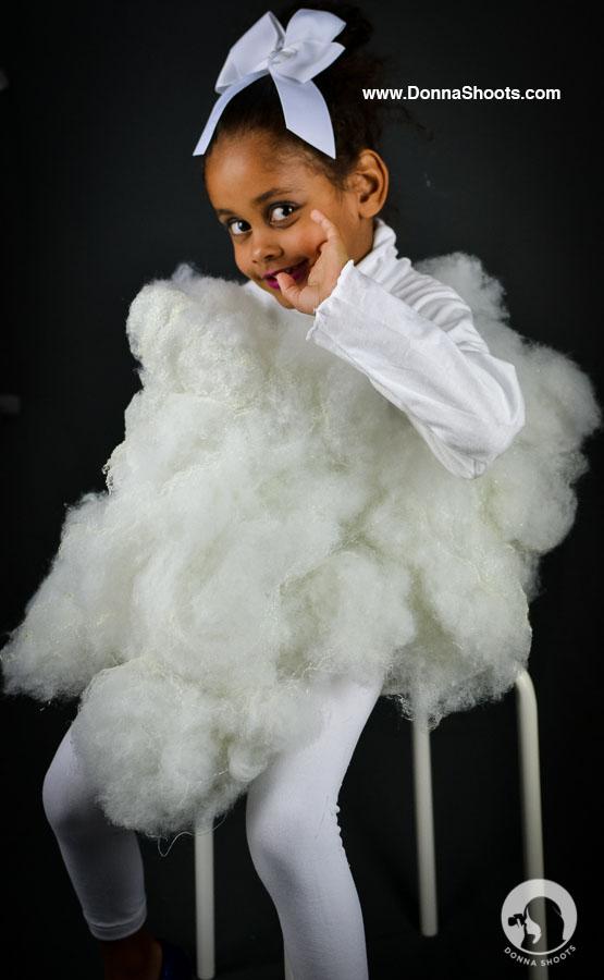 Cloud Costume, Halloween 2015