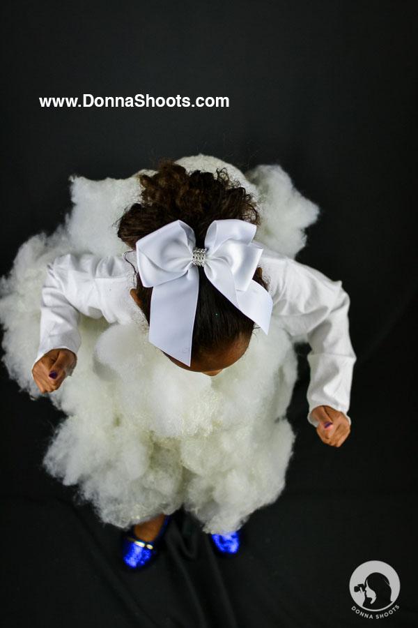 Cloud child costume idea