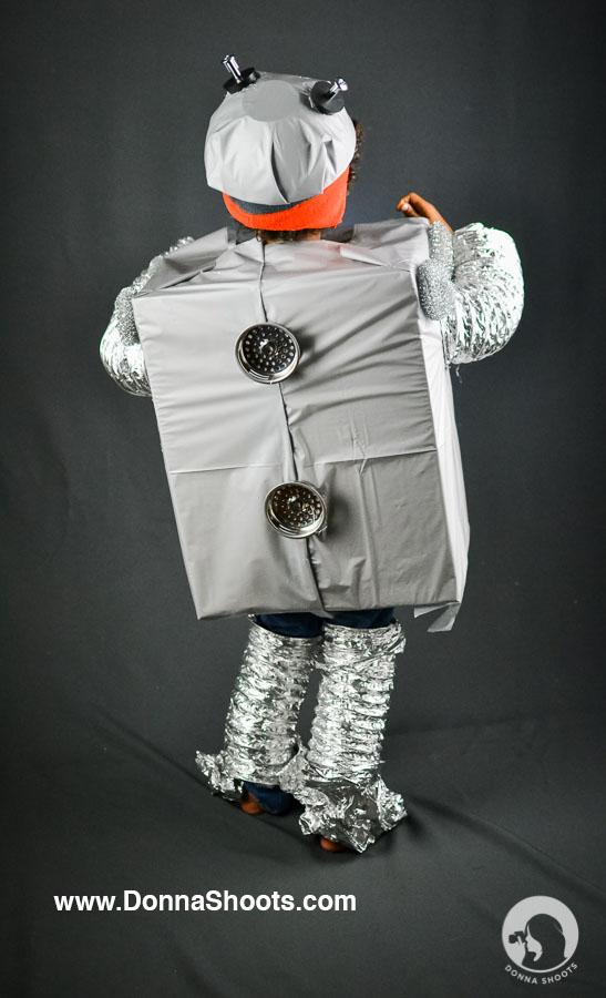 Creative Costume Halloween Robot