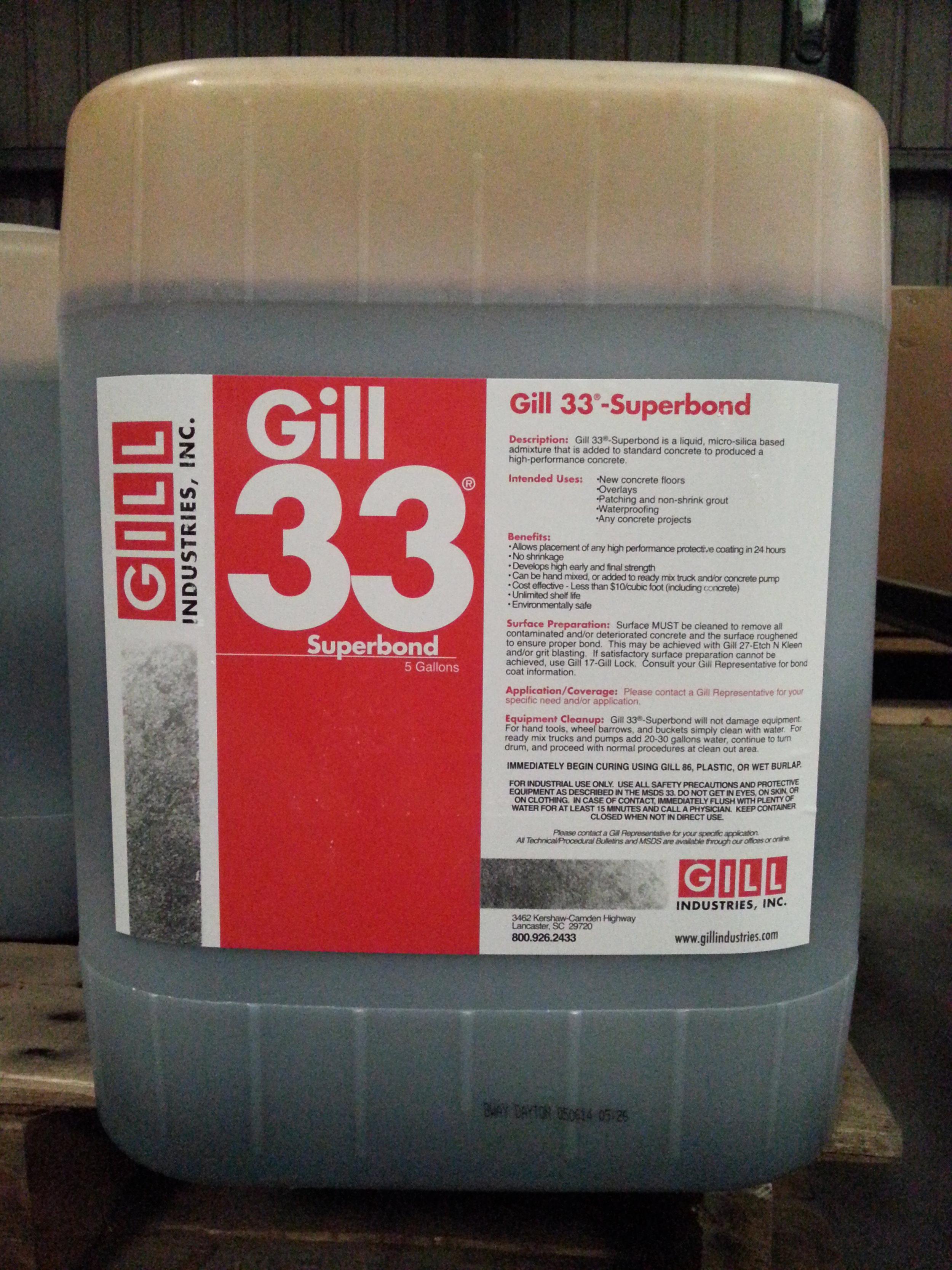 Gill 33® Superbond