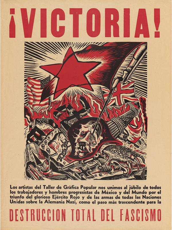 Angel Bracho. Victory!, 1945
