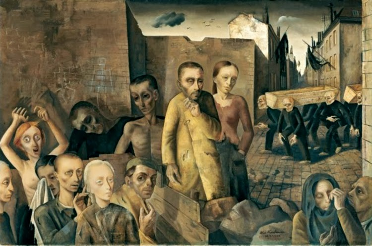 "Felix Nussbaum's ""The Damned"" – painted while he was hiding from the Nazis"