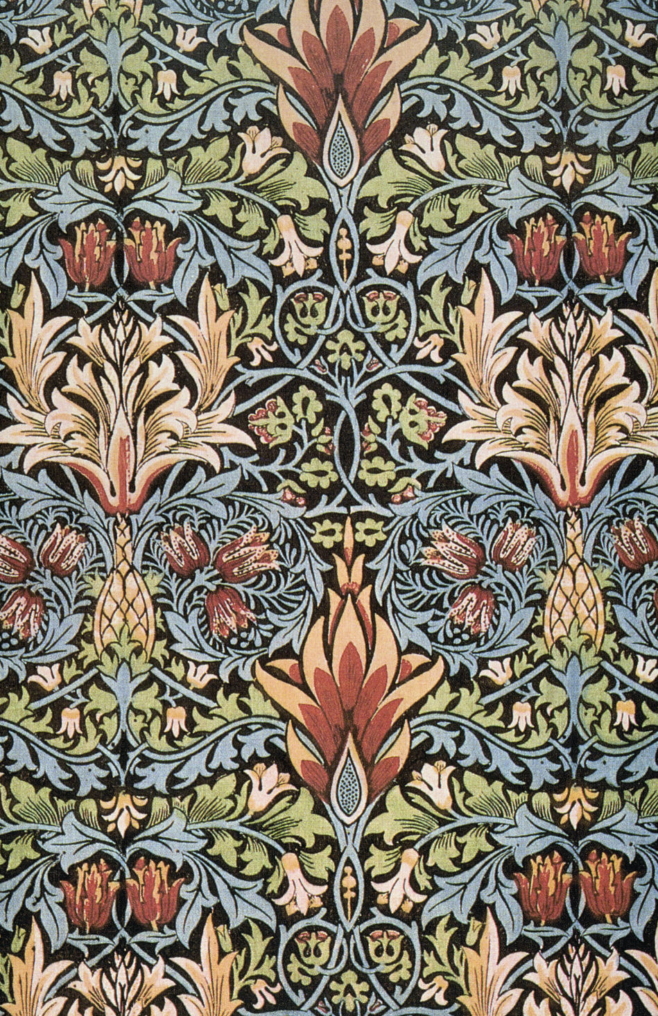 William Morris textile design (1876)