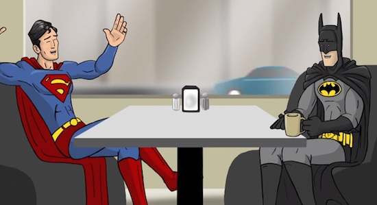 HISHE's Super Cafe shorts on YouTube are really the best thing to come out of the superhero craze.