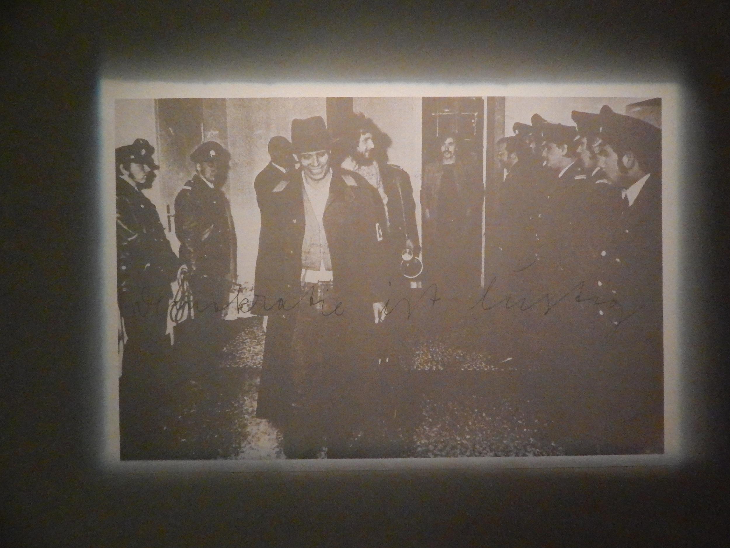 Zero Tolerance:Pprojection of Joseph Beuys' Democracy is Merry
