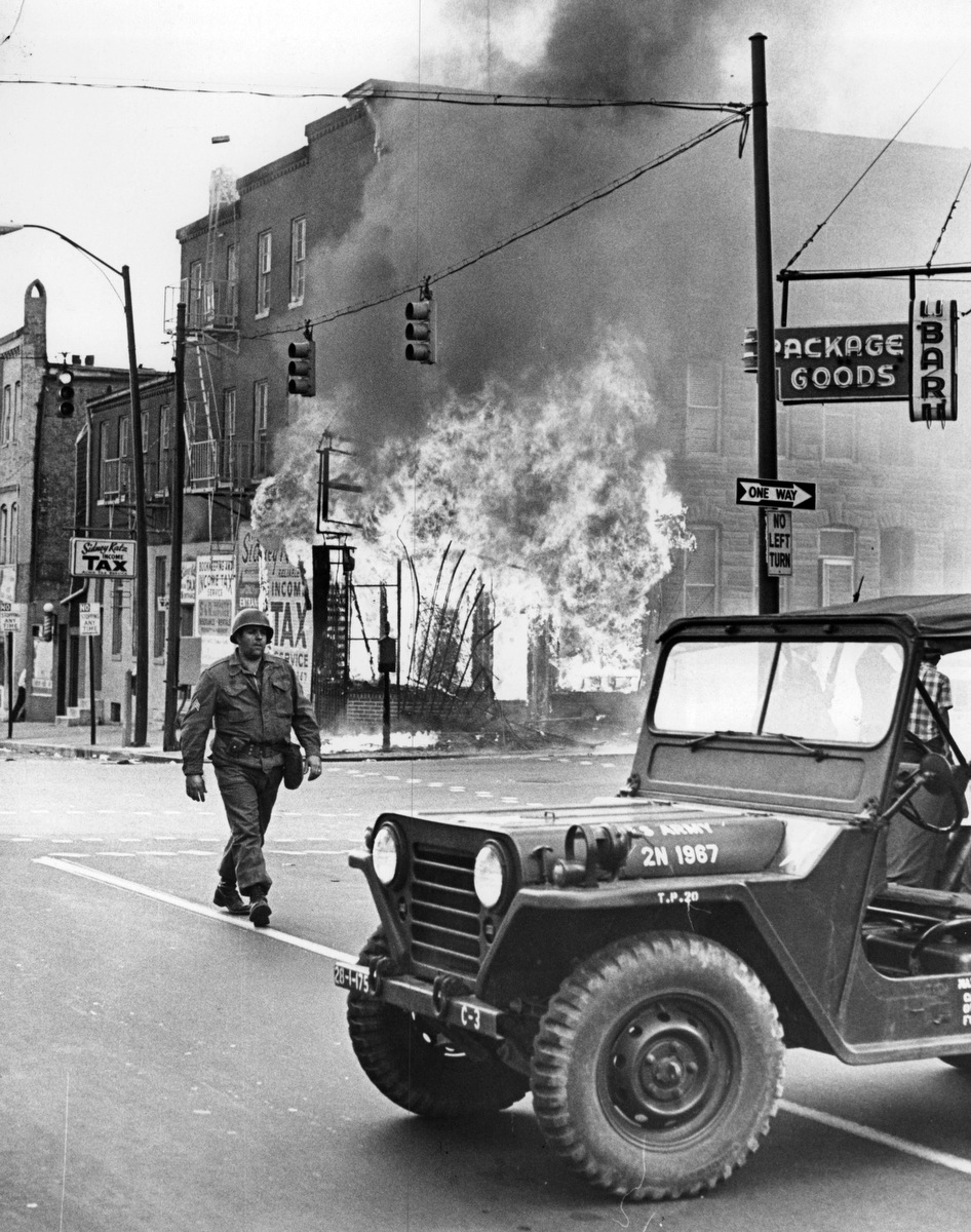 """Baltimore """"Riots"""" of 1968"""