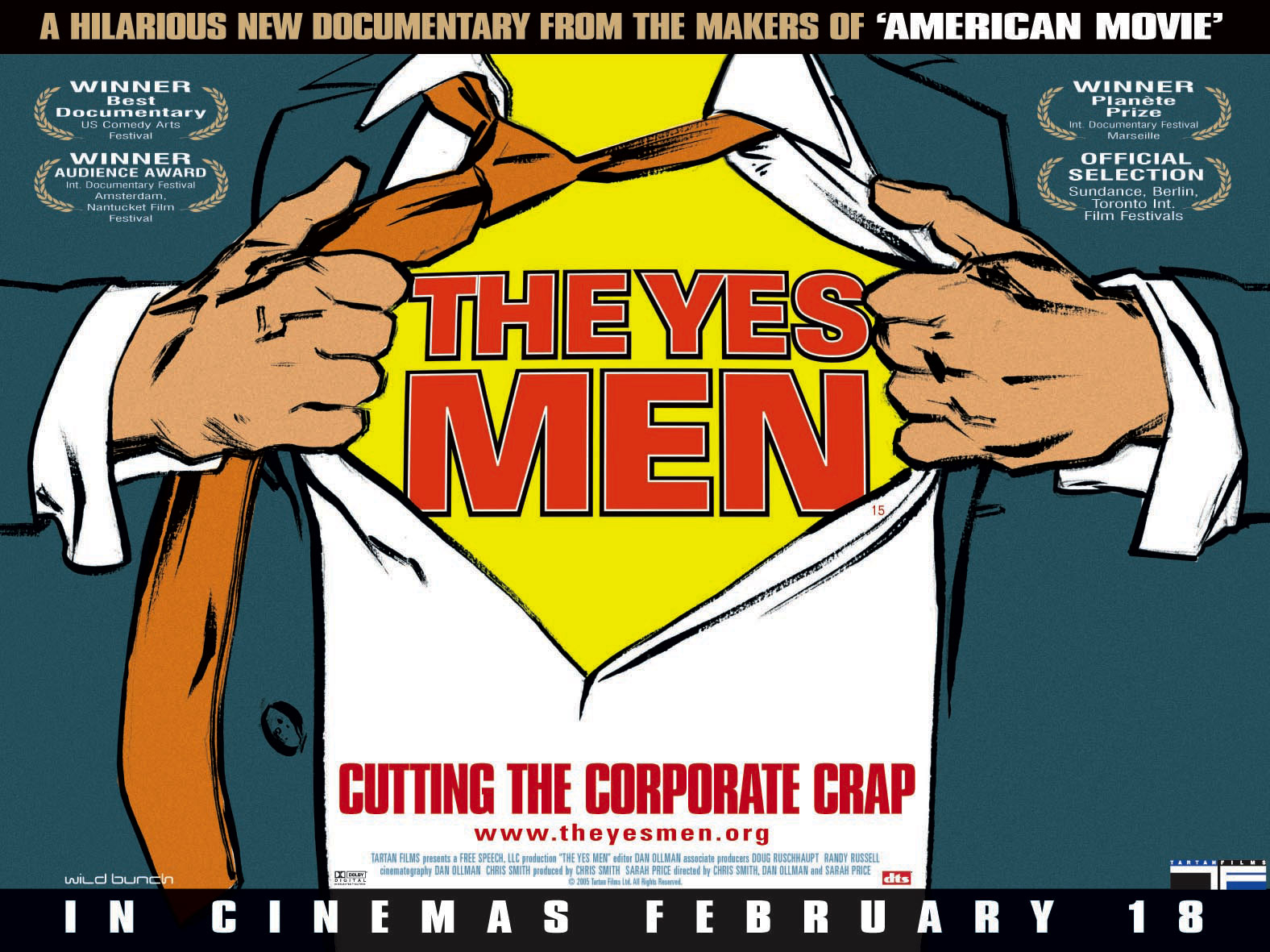 Documentary on The Yes Men.