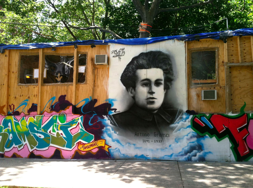 """Thomas Hirschhorn, Gramsci Monument (2013): A positiveexample of """"Social Sculpture"""" as opposed to """"Social Practice."""""""