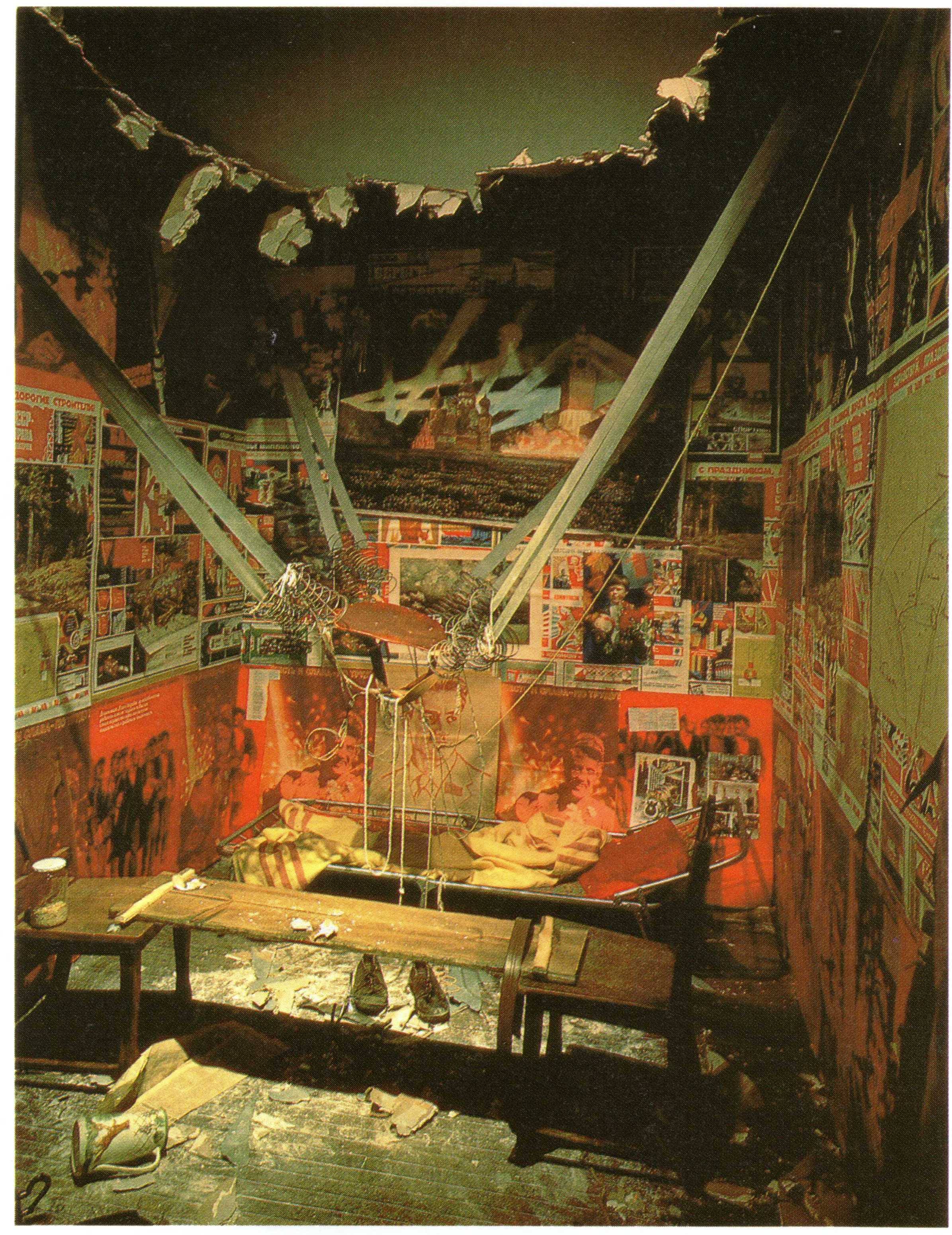 Ilya Kabakov, The Man Who Flew Into Space From His Apartment (1989-1990)