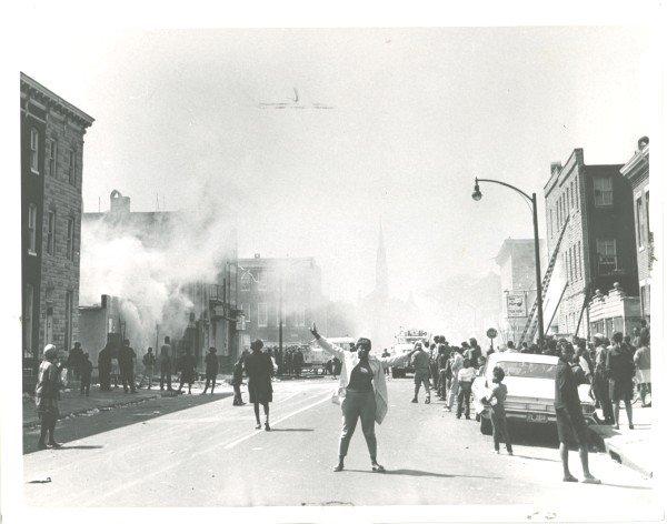 The 1968 Baltimore rebellion.