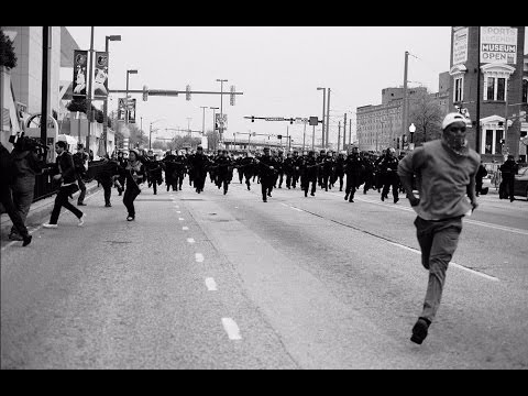 The Baltimore uprising.