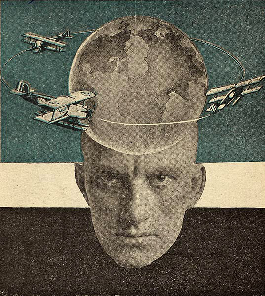 Alexander Rodchenko, Photomontage for Vladimir Mayakovsky's Conversations with a Tax Collector About Poetry(1926)