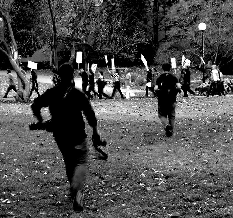 Theintelligentsia on strike (SIU, 2011)