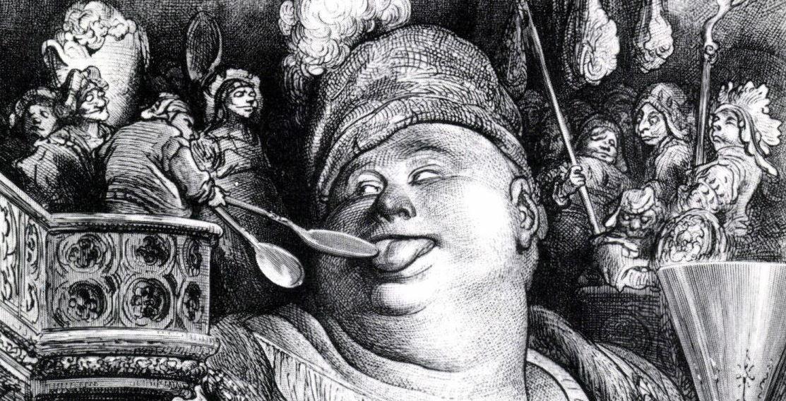 """""""Pantagruel,"""" after Gustav Dore"""