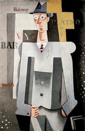 Self-portrait of Josef Capek