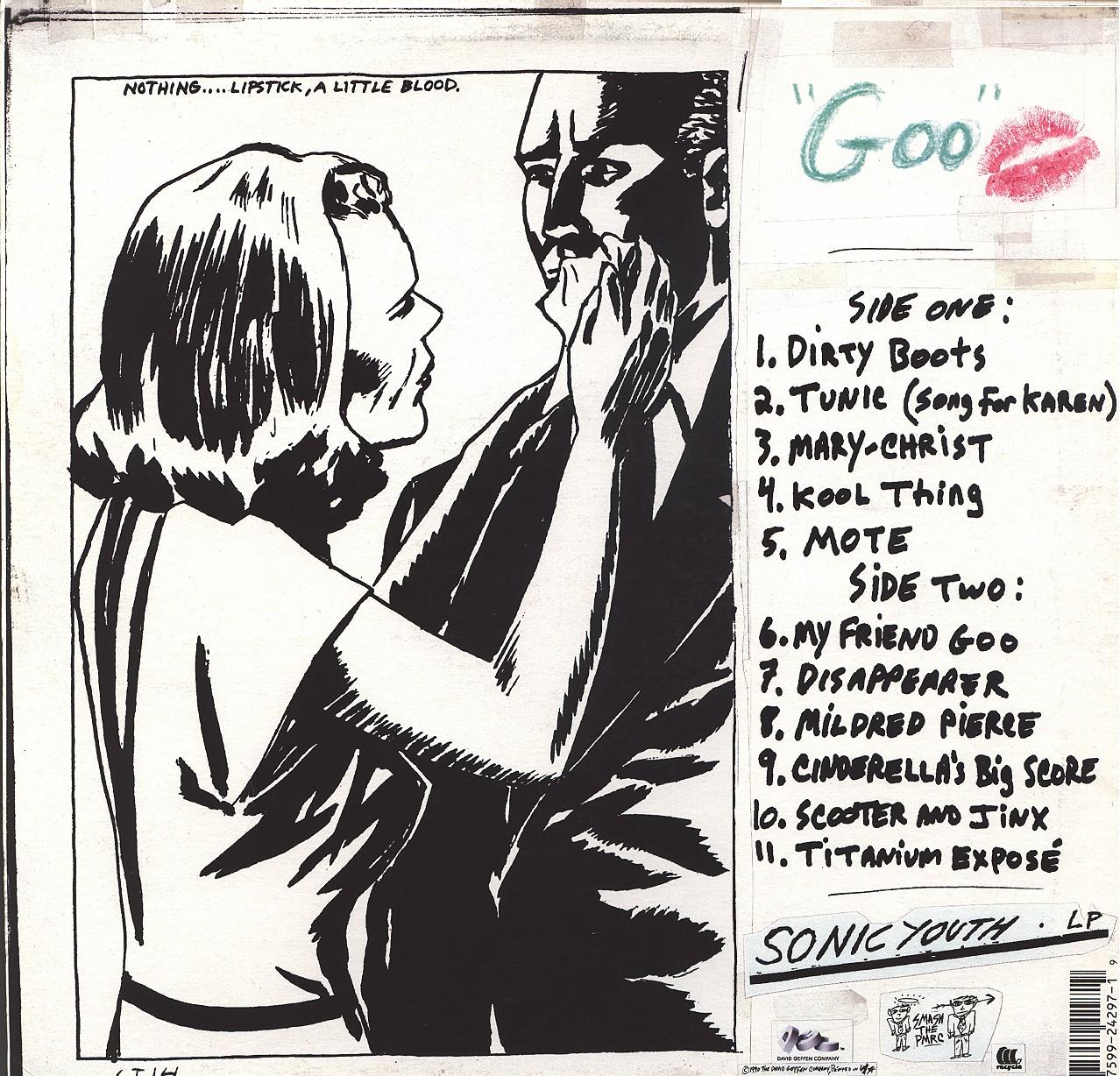 Sonic Youth album art (Pettibon)