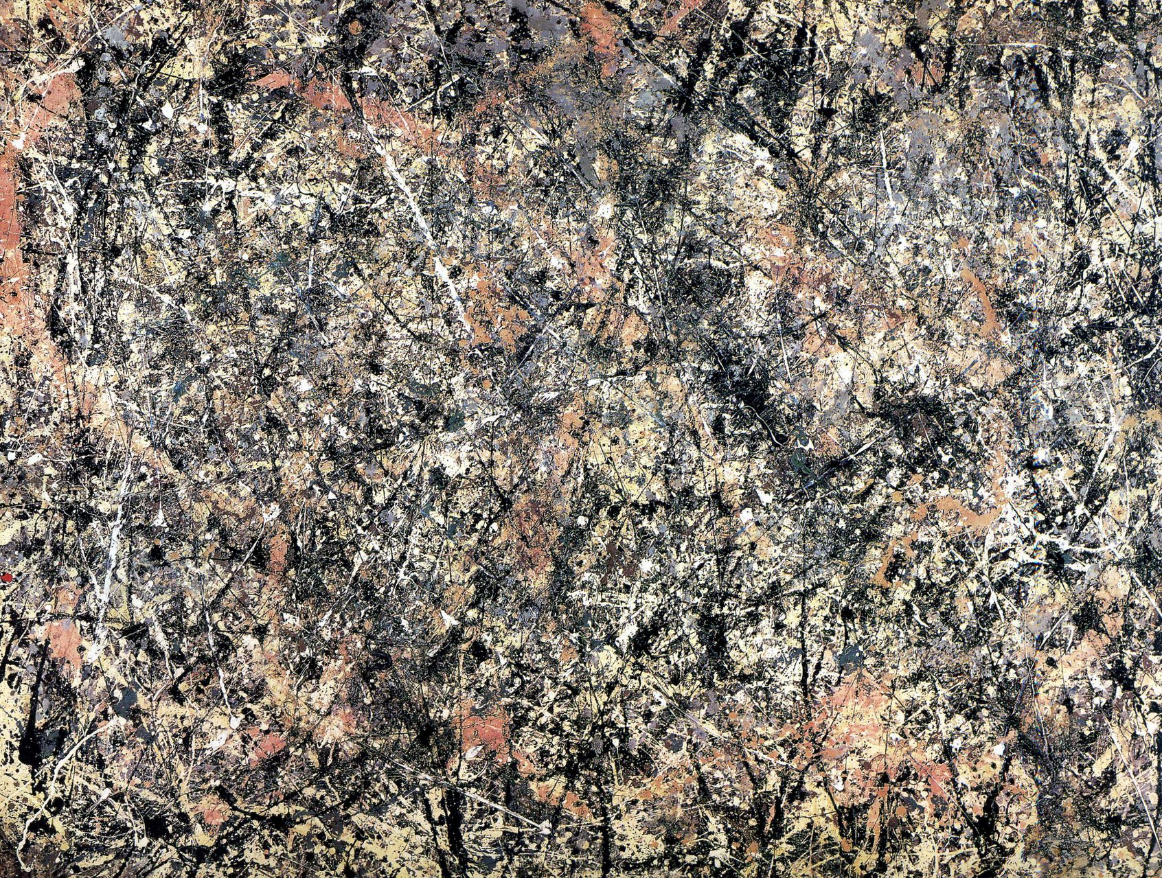 Jackson Pollock,  Lavender Mist