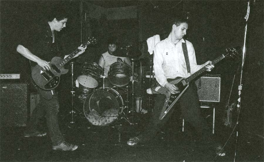 Husker Du performing in Minneapolis, 1981