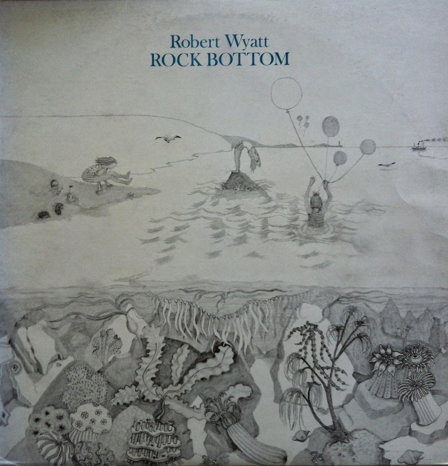 Cover art for Wyatt's  Rock Bottom