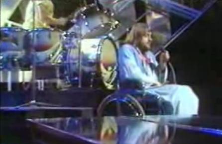 Wyatt on  Top of the Pops , 1974