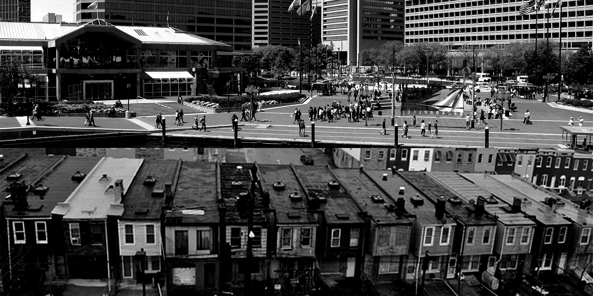 Harbor Place and the other Baltimore