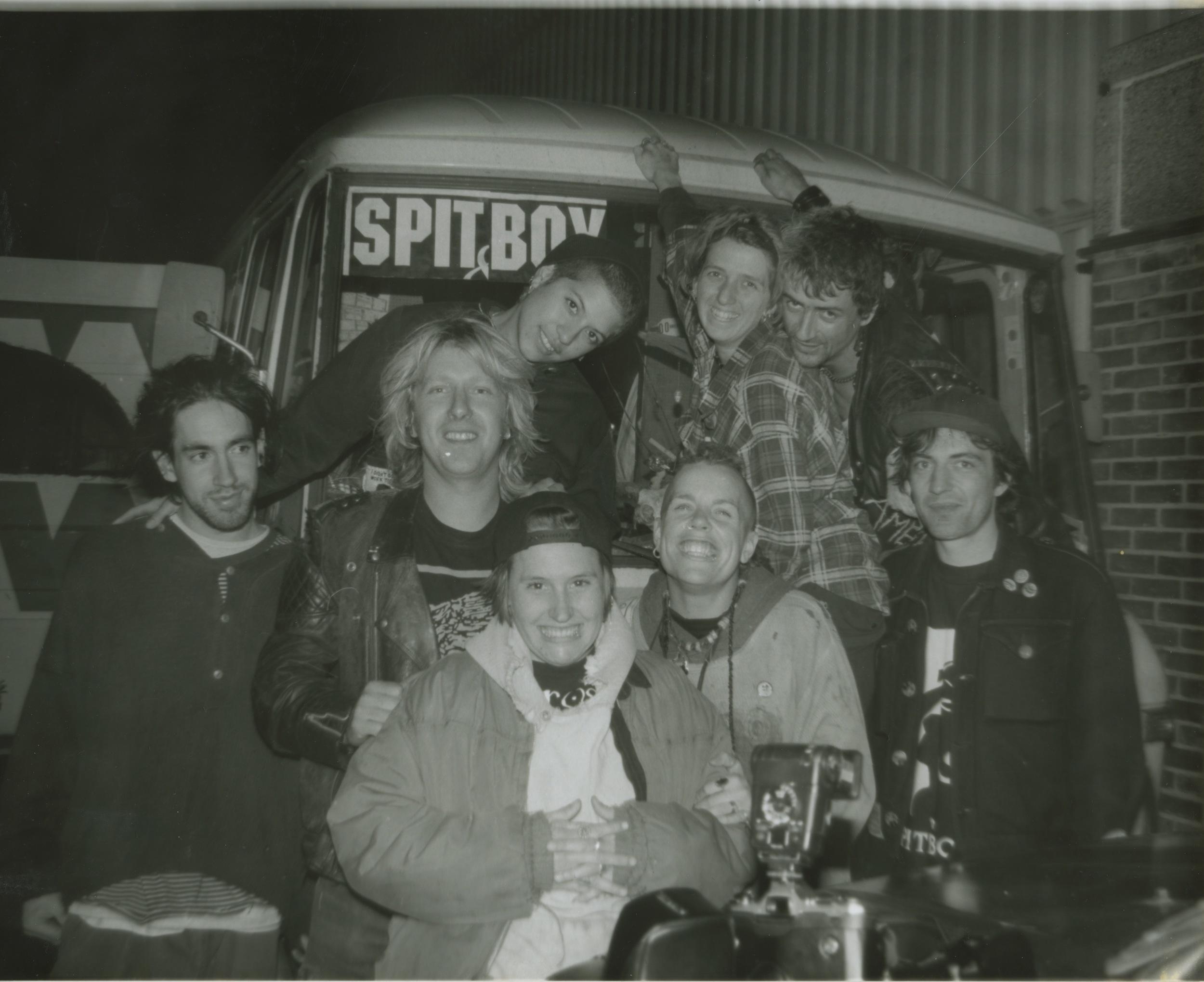 Spitboy, European tour (1993)