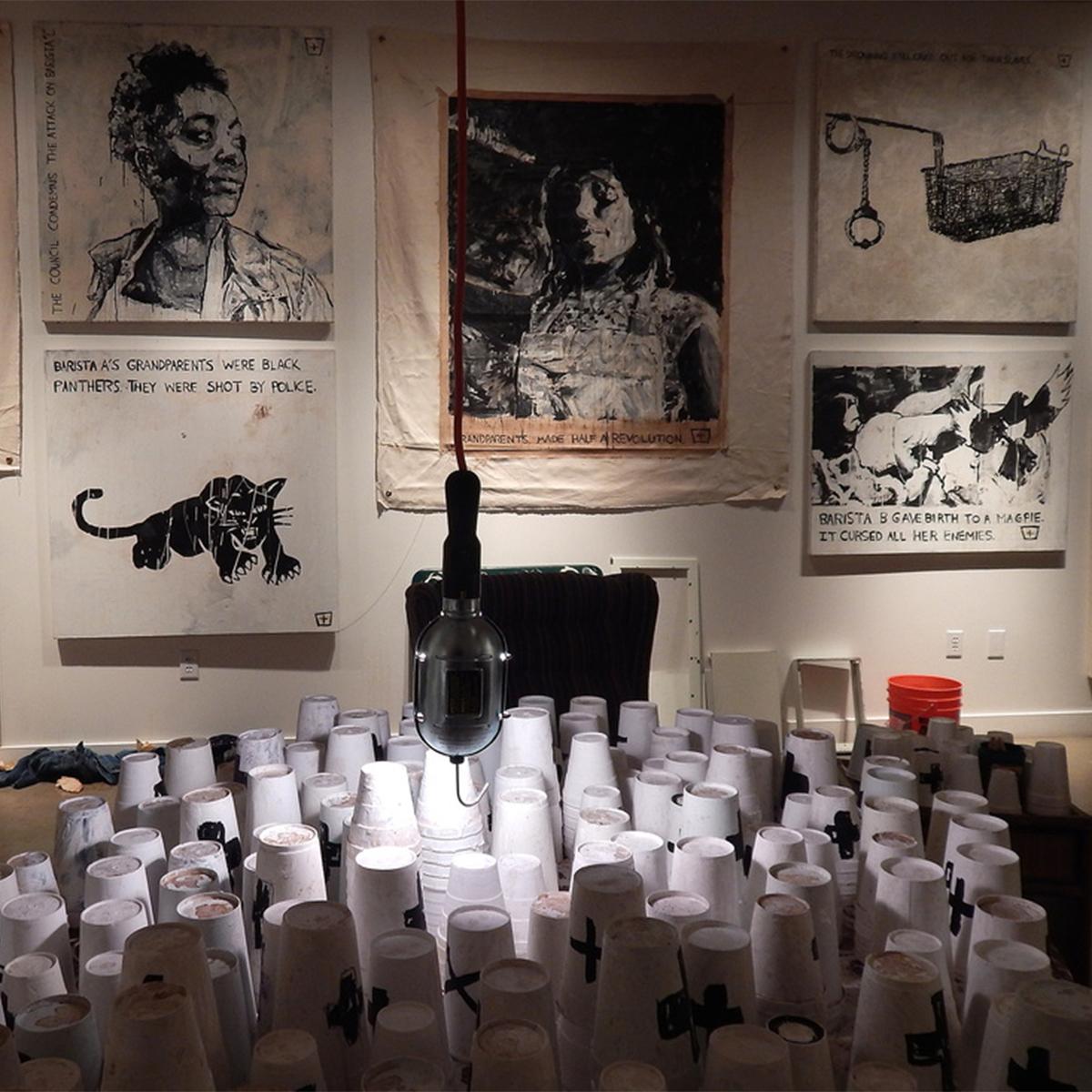 13 Barist  as  (detail)  (Brett Wesley Gallery)