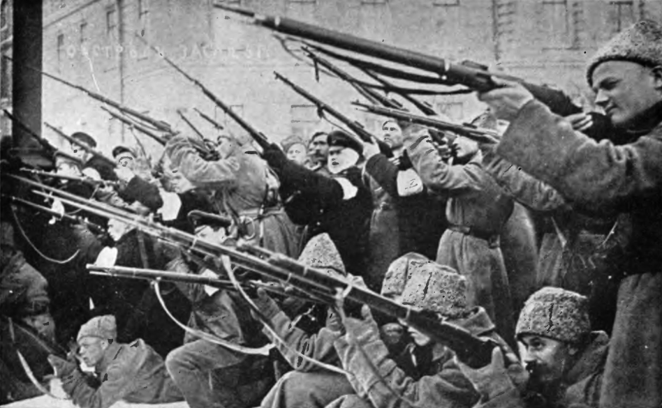 The Russian Revolution of 1917.