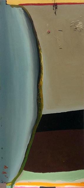 Kobanegrad , 36'' x 76'', oil on wood.