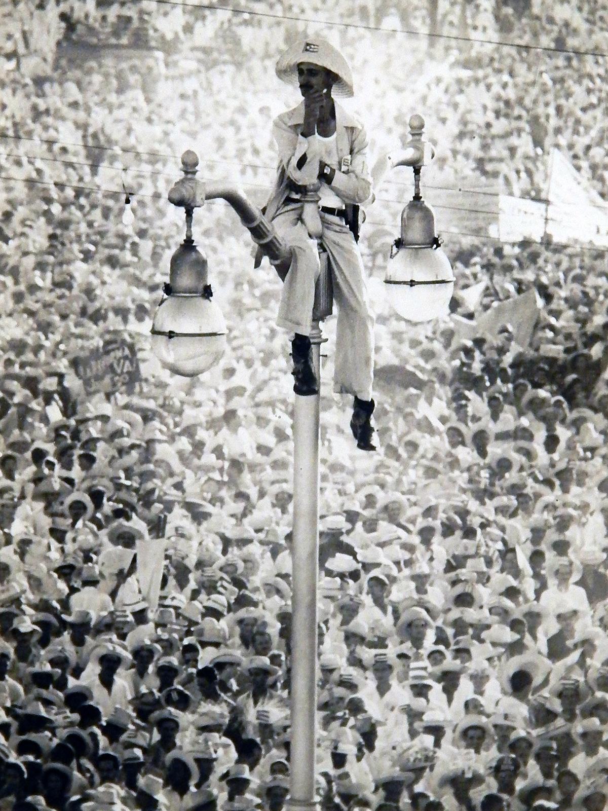 Alberto Korda,  Don Quixote of the Streetlamp, Havana, Cuba  (1959)