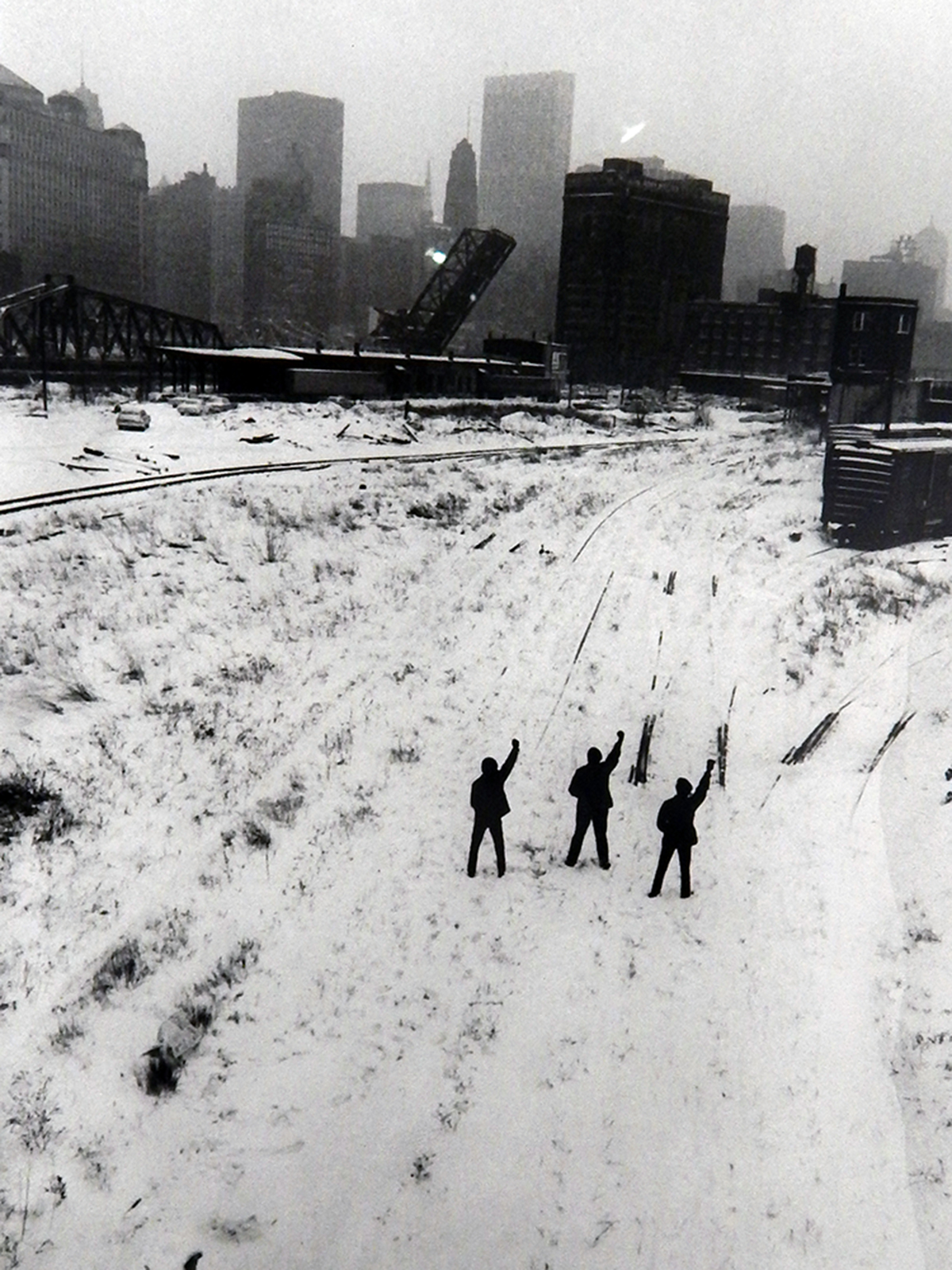 Hiroji Kubota, ' Black Panthers in Chicago, Illinois (1969)