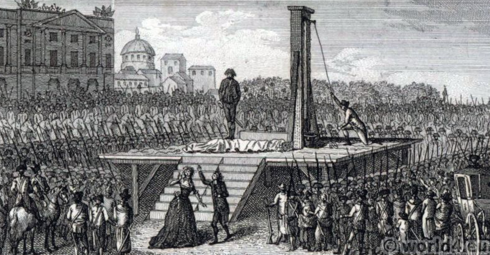 How the French Revolution dealt with the aristocracy.