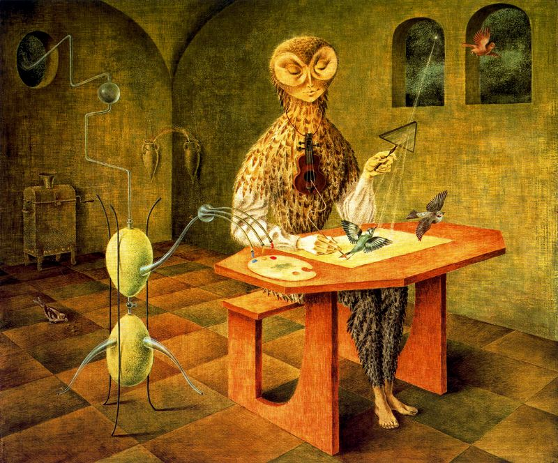 Remedios Varo,  Creation of the Birds  (1957)