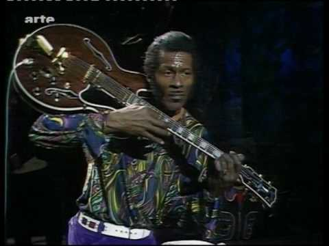 Berry performing on the BBC in the 70s