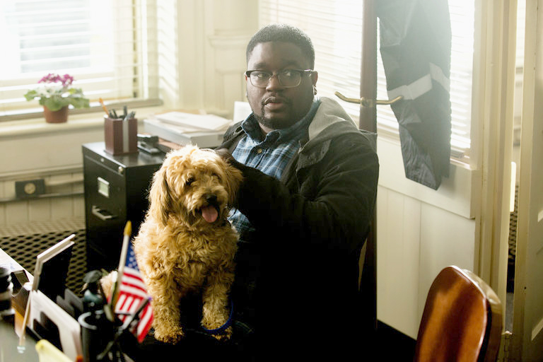 "Milton ""Lil Rel"" Howery (Rod Williams) in  Get Out"